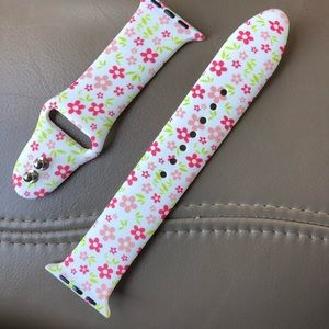 Accessories - Apple watchband delicate flowers